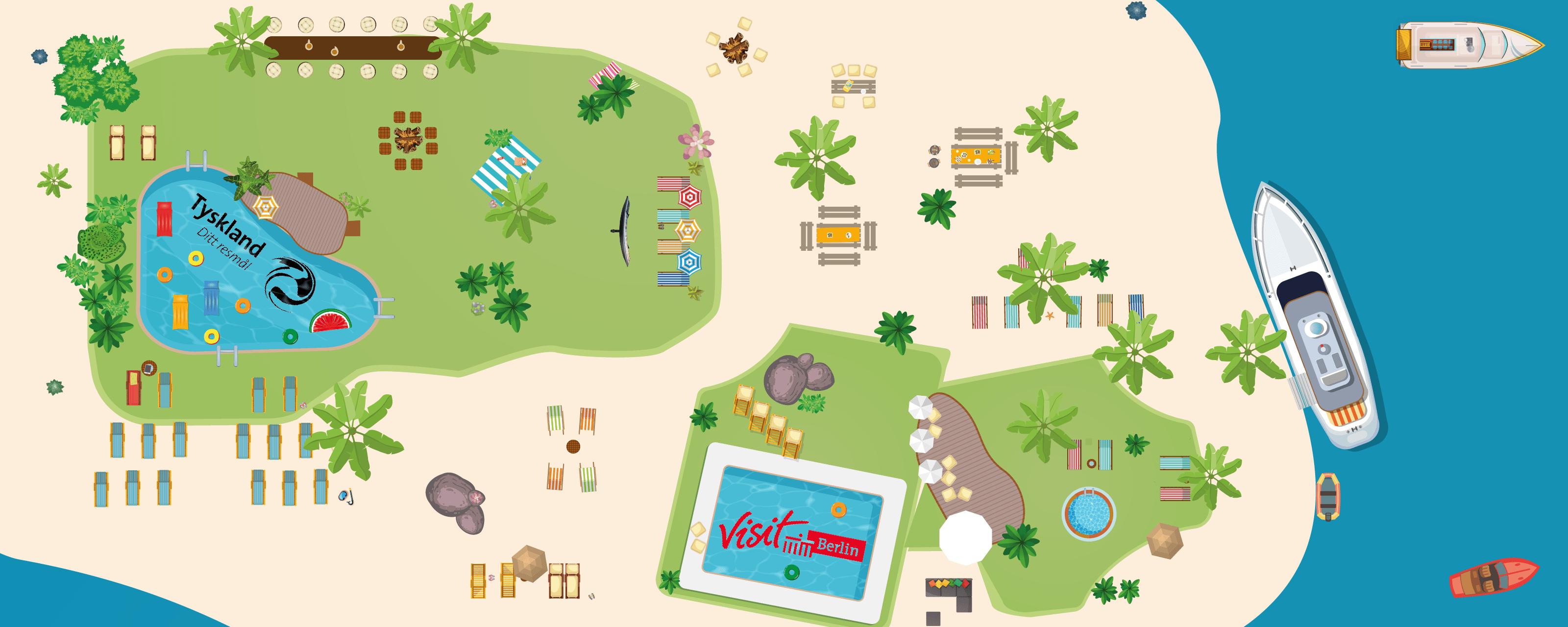 Virtuelle Karibische Insel